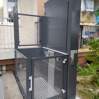 Platforma dla niepełnosprawnych Jura 14.10 w wersji przelotowej 180°