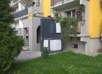 Dostawa i montaż platformy pionowej JURA 14.10 dostawionej do balkonu